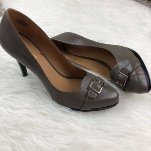 Nine West Buckle Heels